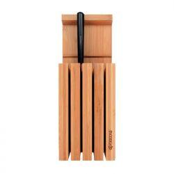 Bloque de bambú para 4 cuchillos - Kyocera