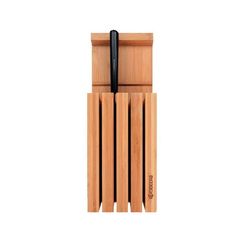 Bloque para cuchillos de bambú - Kyocera