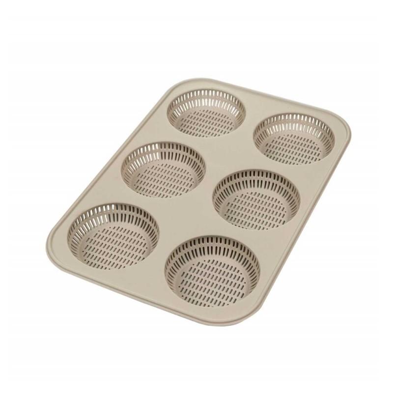 Molde para hamburguesas, de silicona platino - Outlet
