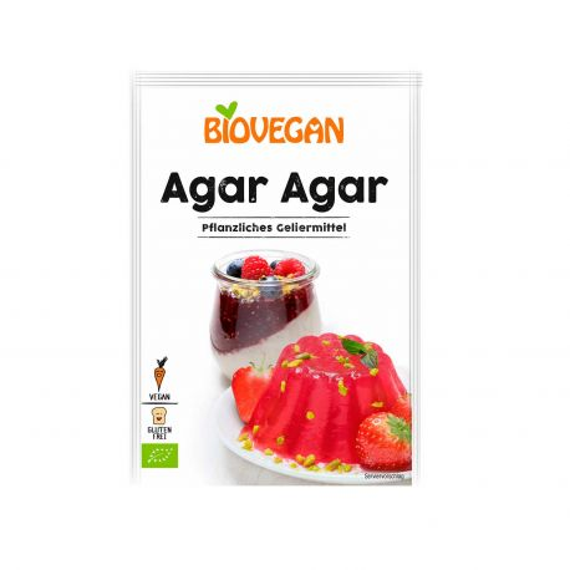 Agar agar ecológico - Biovegan