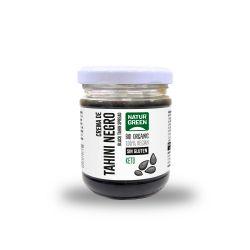 Tahini de sésamo negro ecológico, sin gluten