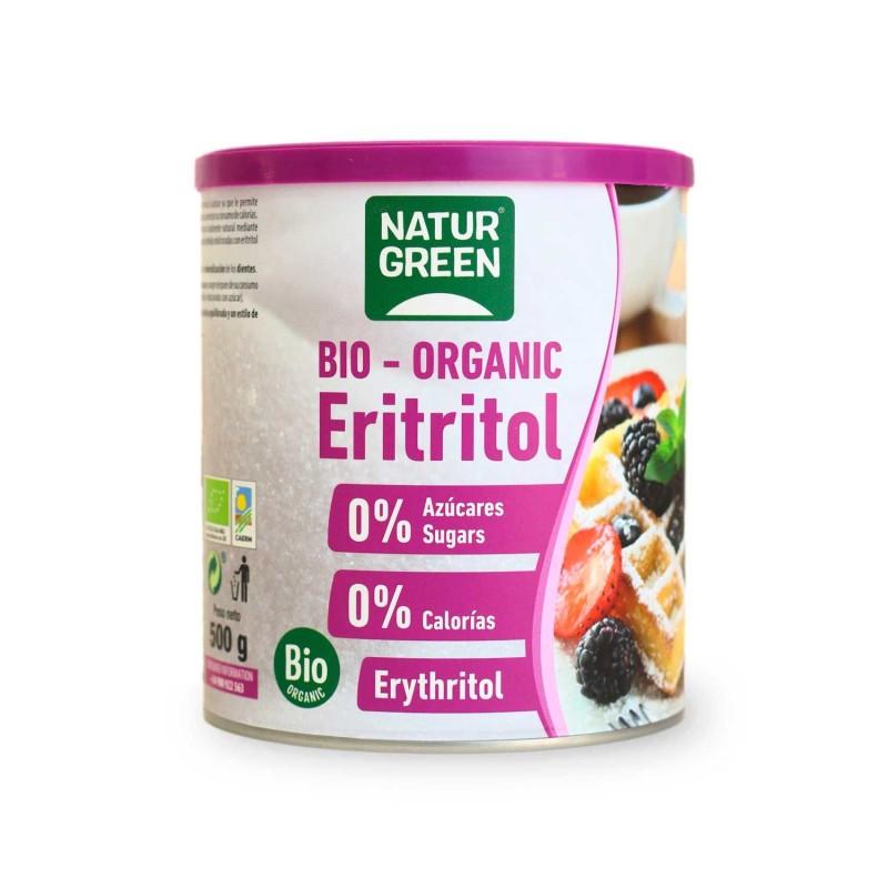 Eritritol ecológico, 500 g - Naturgreen