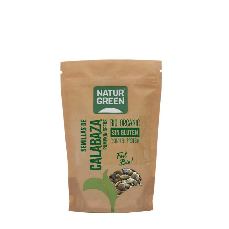 Semillas de calabaza peladas sin gluten - Naturgreen