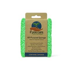 Estropajo ecológico de celulosa - If You Care