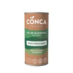 Sal de manantial con hierbas mediterráneas - Conca Organics