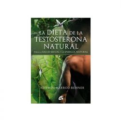 "Libro ""La dieta de la testosterona natural"" - Stephen Harrod Buhner"