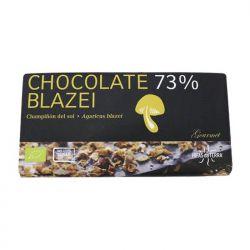 Chocolate 73% con champiñón del sol y agave