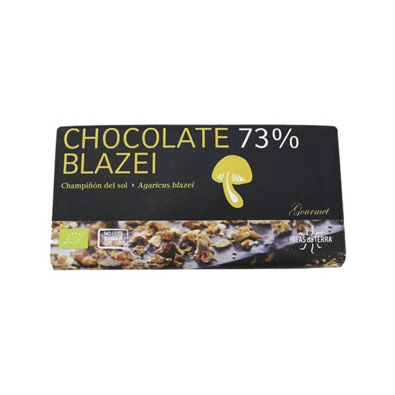 Chocolate & Agaricus blazei (73% cacao) sin azúcar