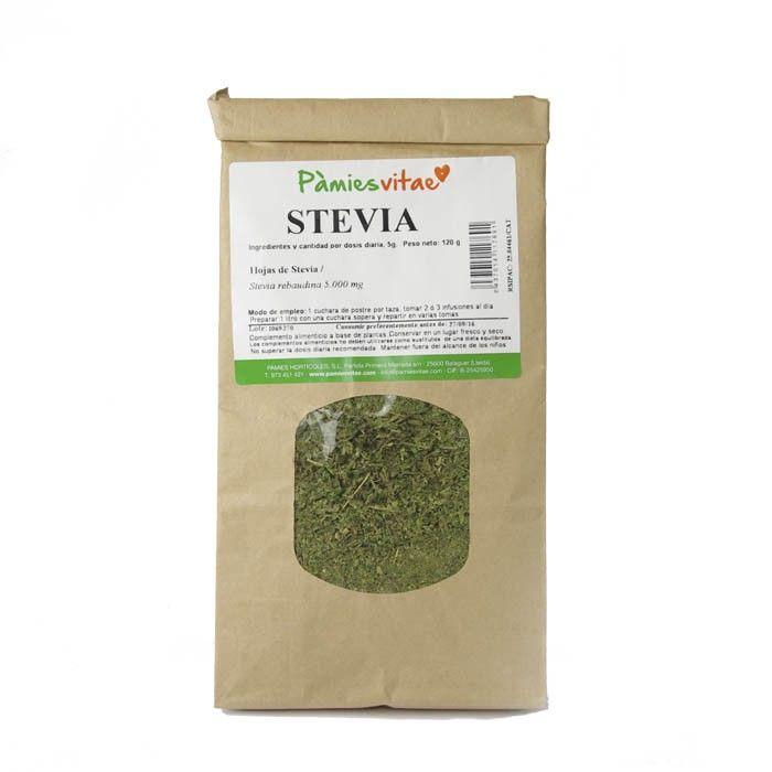 Stevia en hoja seca ecológica - Edulcorante natural