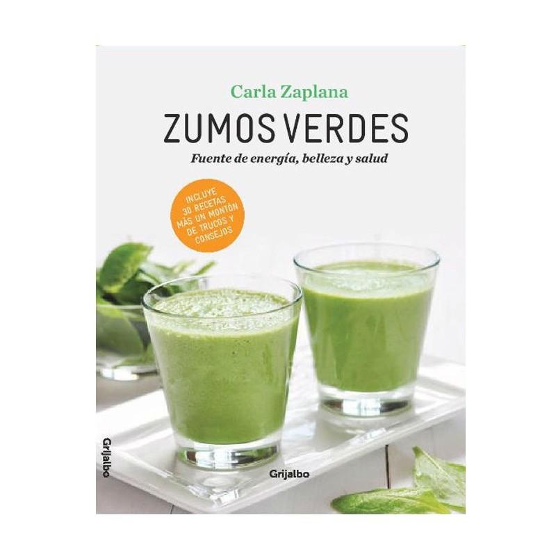 """Libro """"Zumos verdes"""" - Carla Zaplana"""