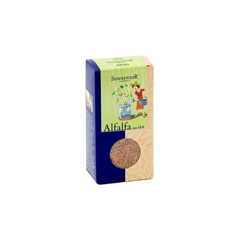 Semillas de alfalfa para germinar, ecológicas - Sonnentor