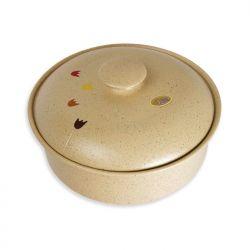 Panera de cerámica - redonda baja Spring