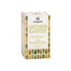 Café verde crudo ecológico molido, en bolsitas - Sonnentor