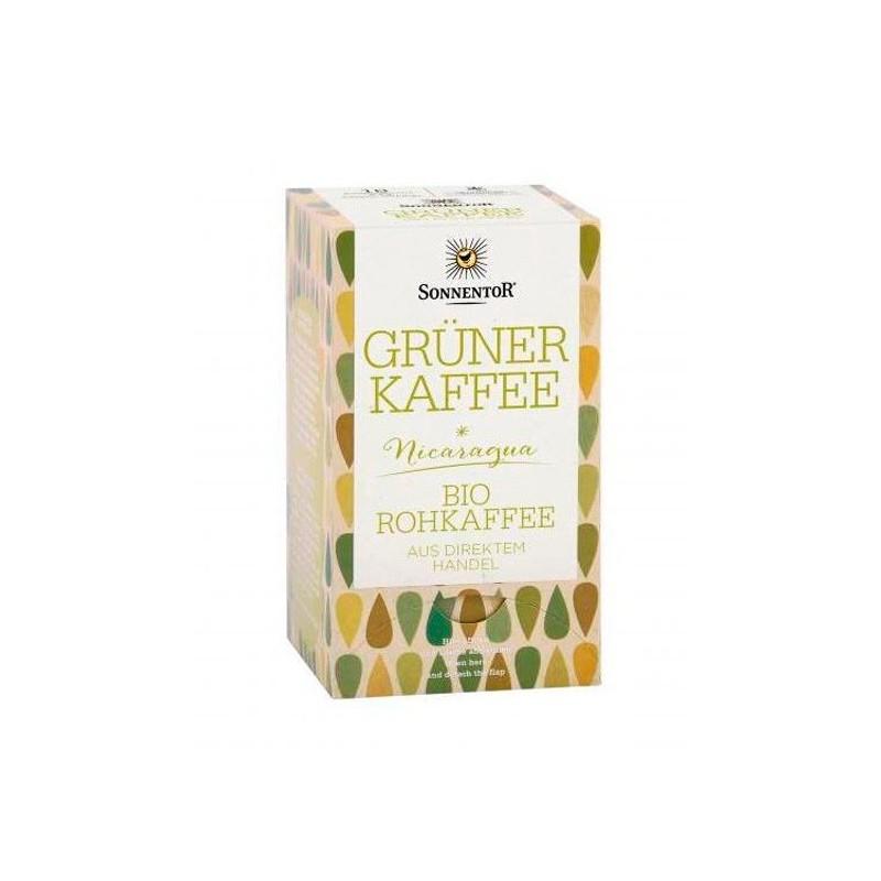 Café verde en bolsitas