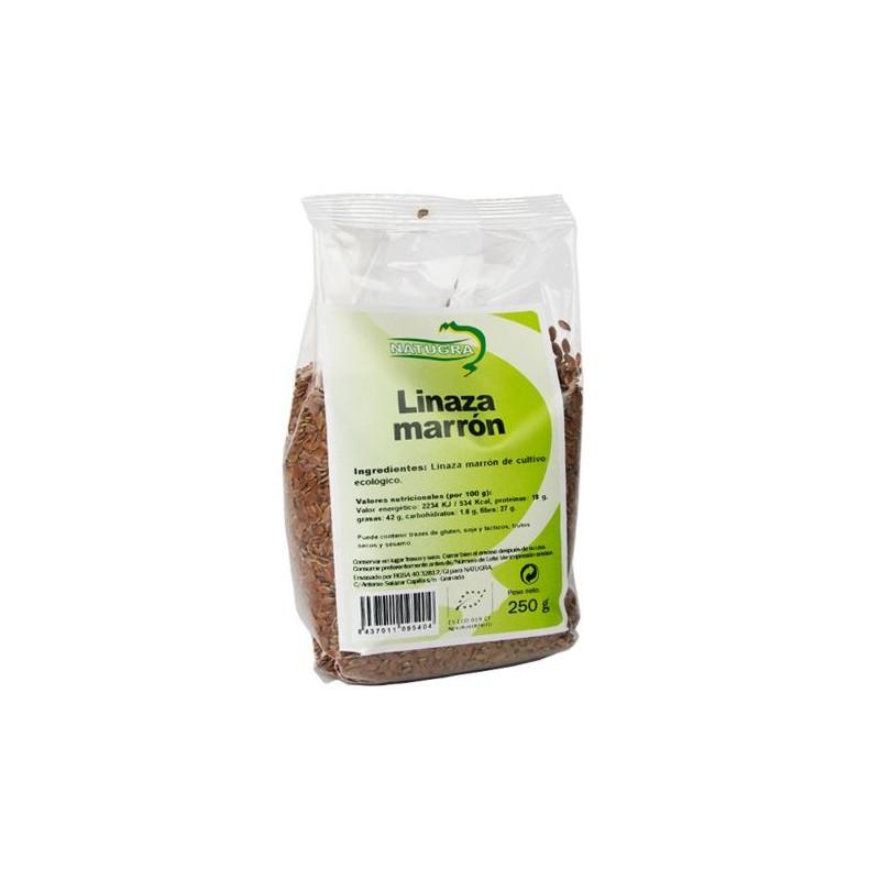 Semillas de lino ecológicas, 250 gr