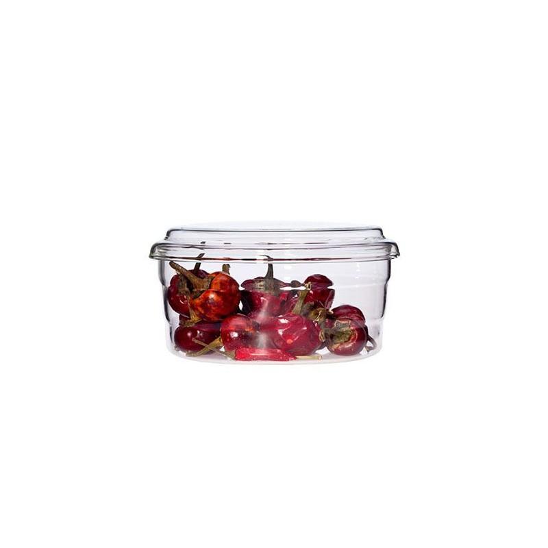 Recipiente de cristal con tapa - Pequeño