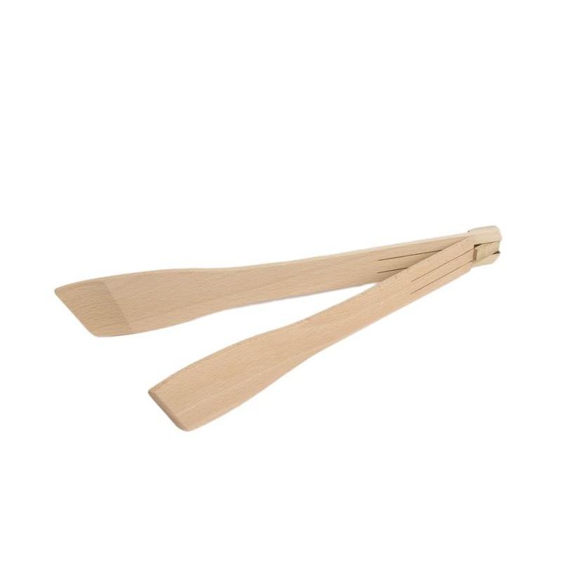 Pinzas plegables de madera de haya