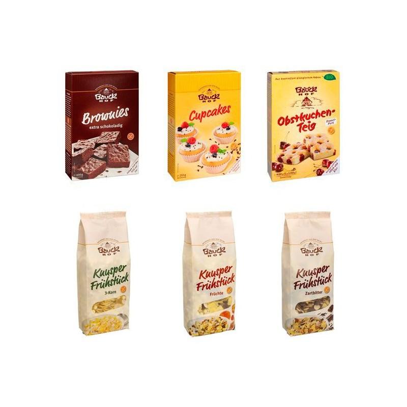 Surtido dulce sin gluten - Bauckhof