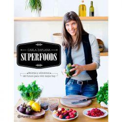 "Libro ""Superfoods"" - Carla Zaplana"
