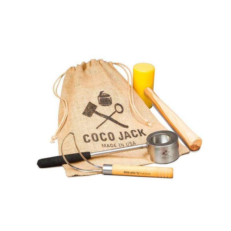 Cocojack, set abridor de cocos
