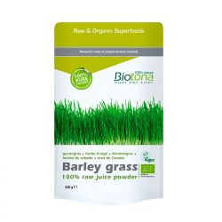 Jugo de hierba de cebada en polvo