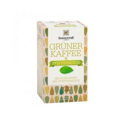Café verde con menta, en bolsitas - Sonnentor