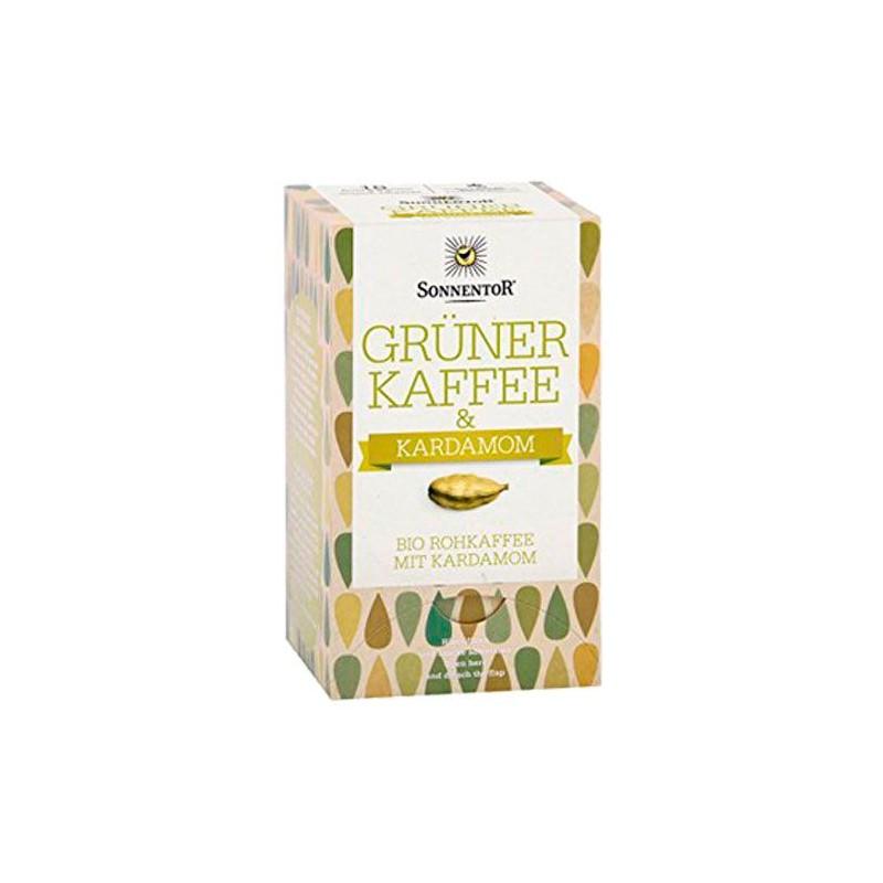 Café verde con cardomomo ecológico - Sonnentor