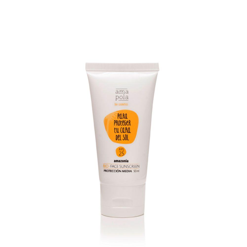 Protector solar facial bio - Crema solar FPS 25