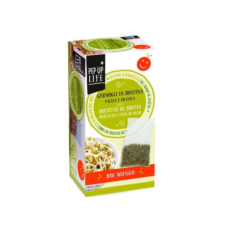 Semillas de mungo en bolsa para germinar ecológicas