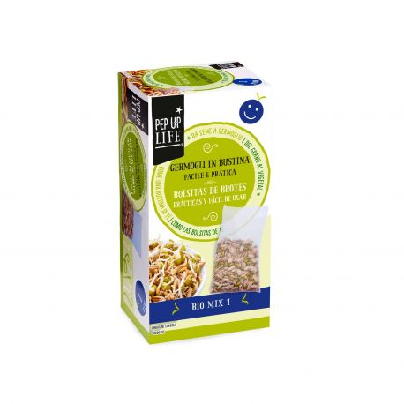 Semillas Bio mix 1 en bolsa para germinar ecológicas