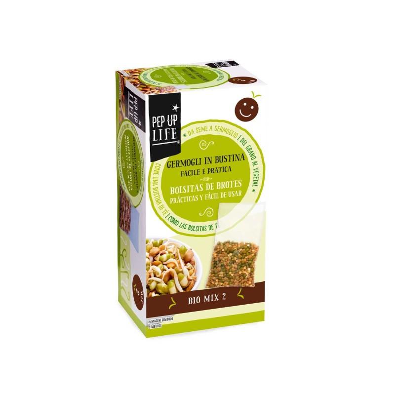 Semillas Bio mix 2 en bolsa para germinar ecológicas