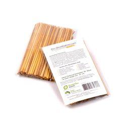 Pajitas ecológicas de centeno - 15 cm