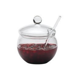 Tarro de cristal para mermeladas y salsas