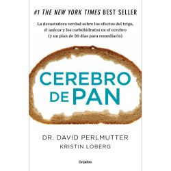 "Libro ""Cerebro de pan"" - David Perlmutter"