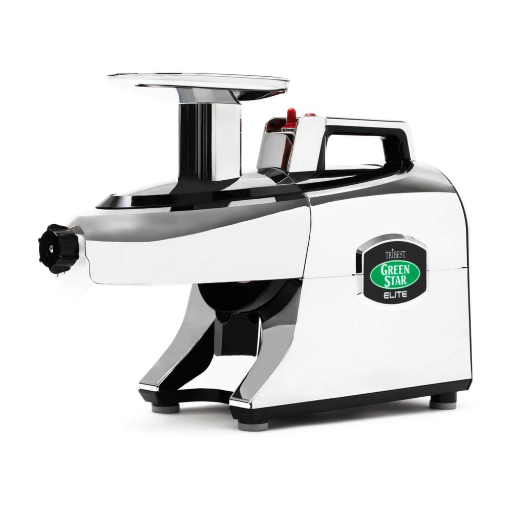 extractor de zumos greenstar elite 5050 chrome. Black Bedroom Furniture Sets. Home Design Ideas