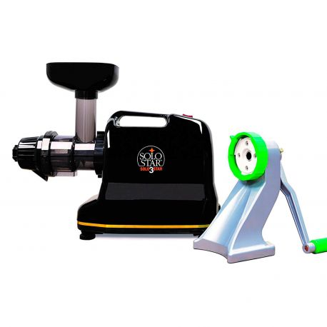 Extractor de zumos Tribest Solostar 3 + kit conversor manual