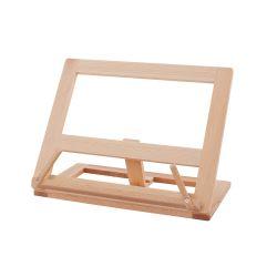 Atril para libros de madera de haya