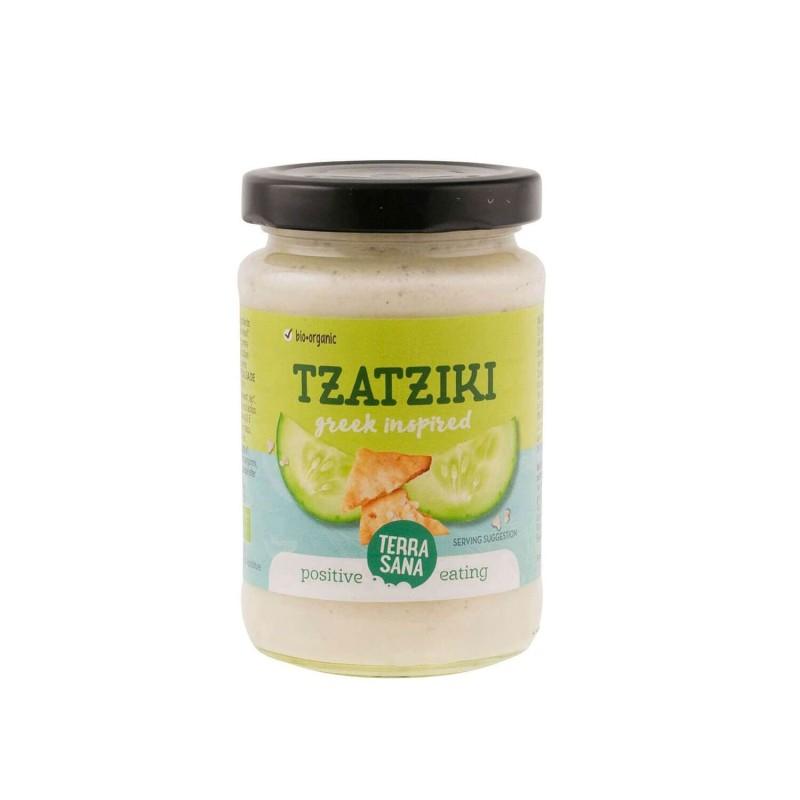 Tzatziki, salsa de yogur y pepino