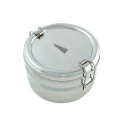 Fiambrera redonda con 2 pisos - 700 ml