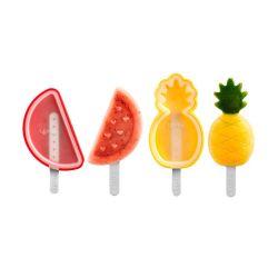 Set moldes de silicona para helados - Frutas