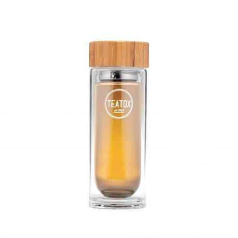 Botella térmica de cristal con filtro - 330 ml