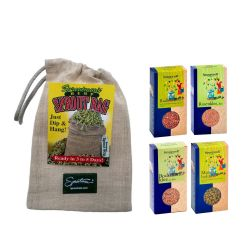 Pack bolsa de germinación de cáñamo + germinados