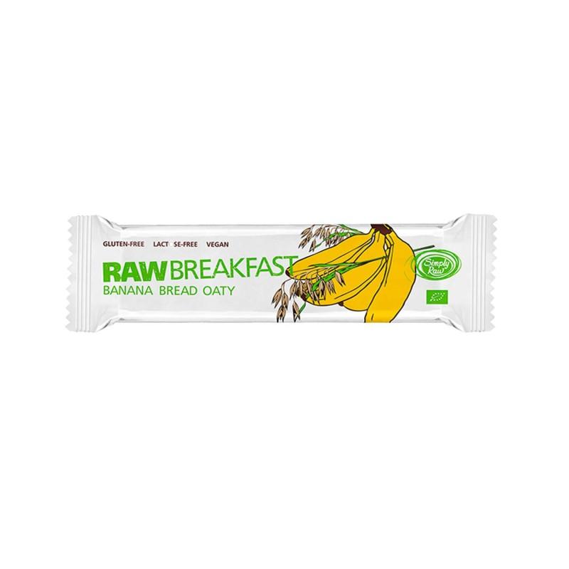 Barrita de avena germinada y plátano