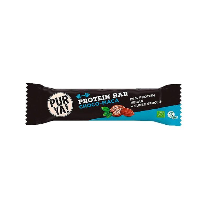 Barrita de proteínas 25% chocolate y maca
