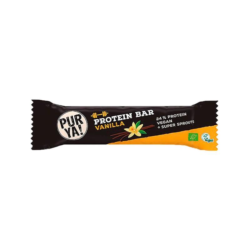 Barrita de proteínas 24% de vainilla