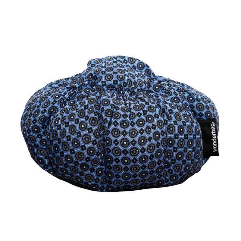 Wonderbag grande - batik azul