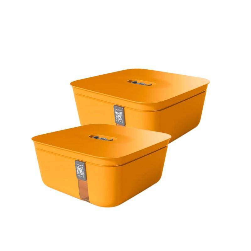 Set de 2 contenedores medianos para envasar al vacío - Vacuvita