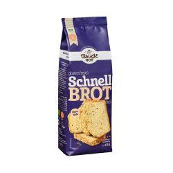 Pan rápido de arroz con lino dorado, sin gluten - Bauckhof
