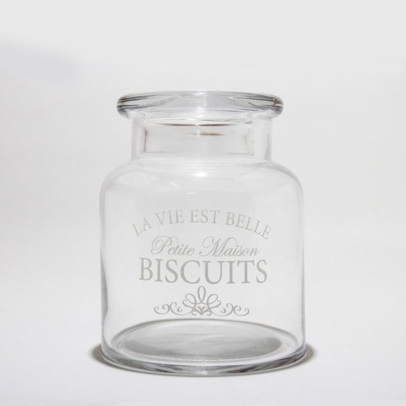 Tarro de cristal para galletas