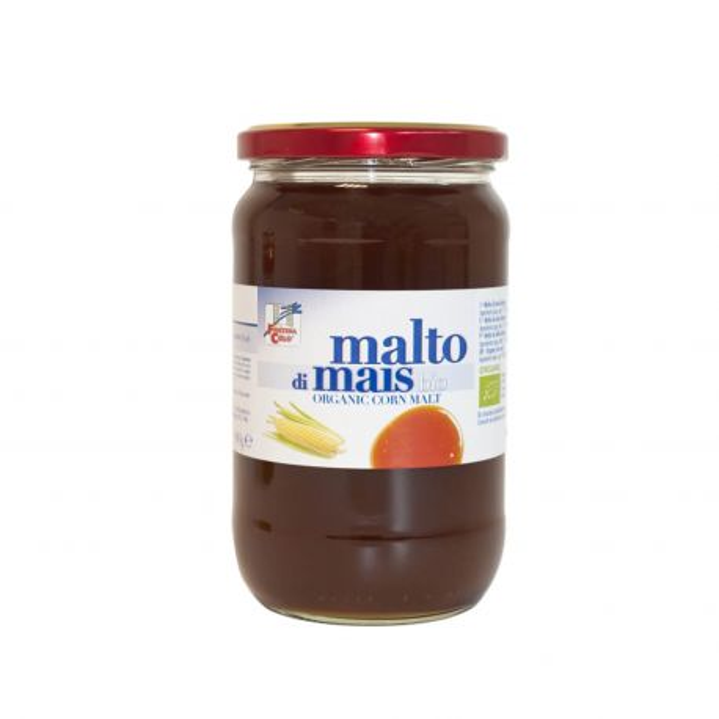 Malta de maíz ecológica